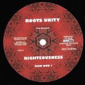 """Roots Unity - Righteousness / Raw Dub 1 / Reasoning / Raw Dub 1 (Roots Unity) 12"""""""