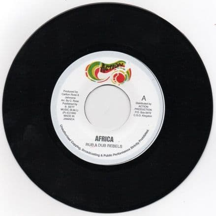 Rub A Dub Rebels - Africa / version (Action) UK 7
