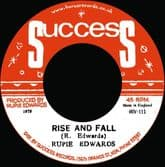 Rupie Edwards  - Rise And Fall / Rise In Dub (Success / Horus Music) 7""