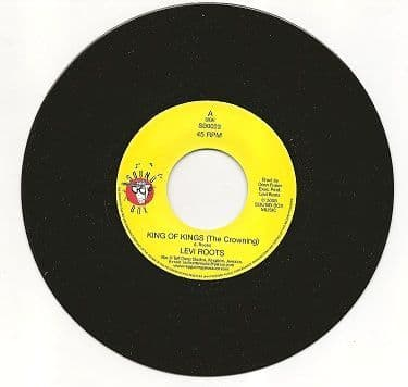 SALE ITEM - Levi Roots - King Of Kings (The Crowning) (Sound Box) UK 7