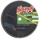 SALE ITEM: Sugar Minott - Heartical Respect / version (Sounds For All Music / Common Ground) 12""