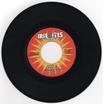 Sizzla - Away From The Violence / Jr Yellam - Summertime Girlfriend (Irie Ites) EU 7