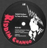 Sons Of Simeon - Goliath Brothers Verse 1 / Verse 7 / Veres 36 (Riddim Chango) 10""
