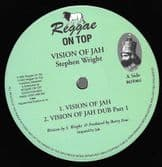 Steven <Stephen> Wright - Vision Of Jah (Reggae On Top) 12""