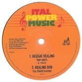 Tony Roots - Reggae Healing / M. Ital - So Shall Distance (Ital Power Music) 12""