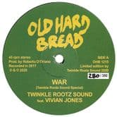 Twinkle Rootz Sound ft Vivian Jones - War / Dub Version (Old Hard Bread) 12""