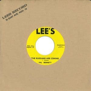 Val Bennett - The Russians Are Coming / Glen Adams - Lonely Girl (Lee's / Dub Store) 7