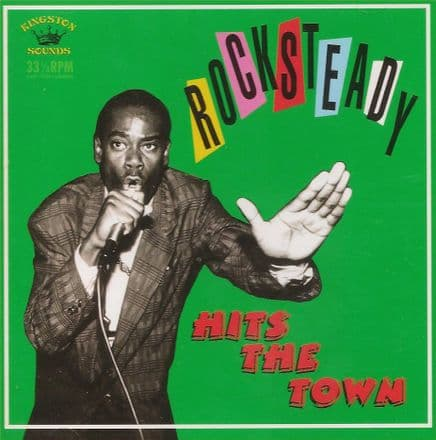 Various - Rocksteady: Hits The Town (Kingston Sounds) LP
