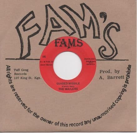 Wailers - Guided Missile / Work (Fams / Dub Store Records) JPN 7