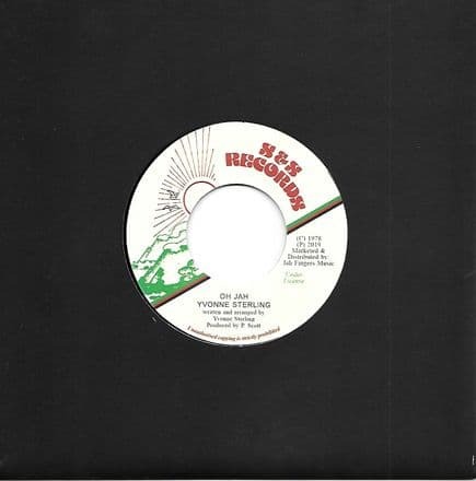 Yvonne Sterling - Oh Jah / Jah Scoop Rhythm (S&S Records / Jah Fingers) 7