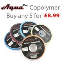 Aqua Pro Copolymer Tippet  - Buy any 5 for £8.99