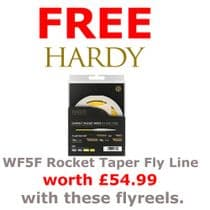 Fly Reels with FREE Fly Line