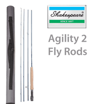 Shakespeare Agility 2 Fly Rods - SAVE 20%!!