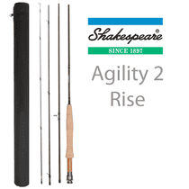 Shakespeare Agility 2 Rise Fly Rods - SAVE 20%!!