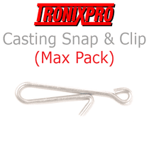 Tronixpro Casting Snap with Clip Max pack