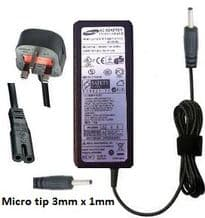 Samsung charger ad-4019w 19v 2.1a (new micro tip version)