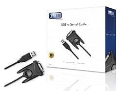 Sweex USB to Serial cable converts port to RS232