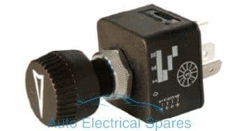 180158 CLASSIC / KIT CAR rotary switch 4 position Off-On-On-On