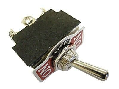 2436 Toggle switch 3 position 6 terminals ON-OFF-ON DOUBLE POLL