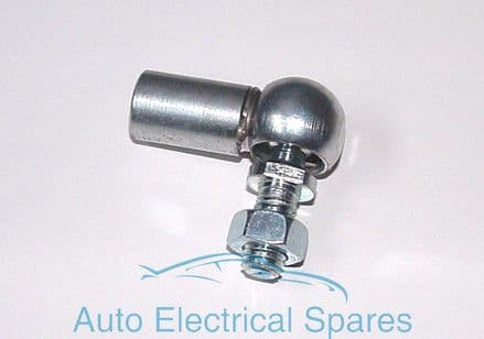 ANGLED ball joint ZINC PLATED WITH CLIP thread M8 x 1.25