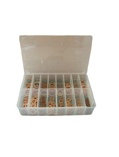 Assorted Copper  Sealing  Washers x 250