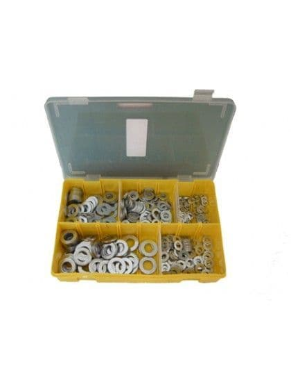 Assorted  Flat Washers x 400