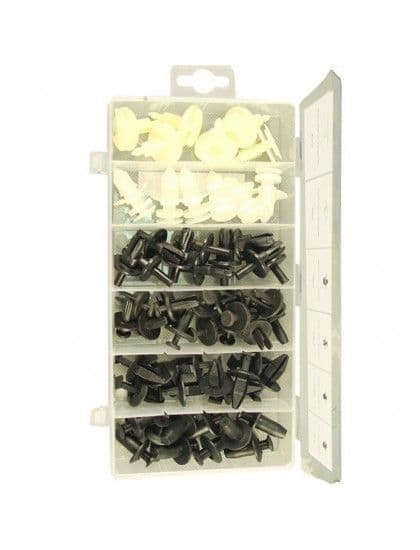 Assorted Ford Trim Clips x 57