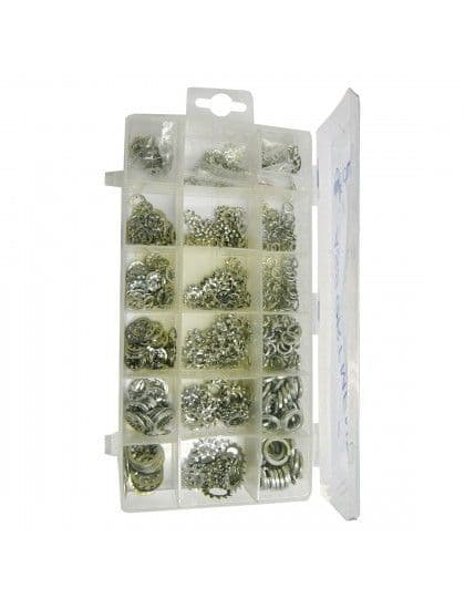 Assorted Lock Spring & Star Washers x 720