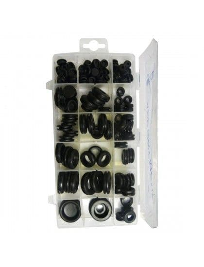 Assorted Plugs & Grommets x 125
