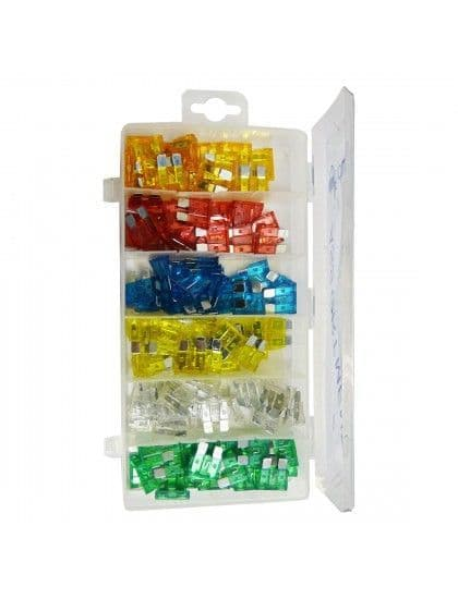 Assorted Standard Blade fuses x 120