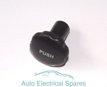 Lucas 318181 Switch Knob BLACK with PUSH