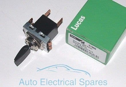 Lucas 31960 57SA Heater / Fan Toggle Switch C15589