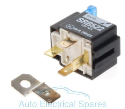 lucas SRB522 28RA relay 12v 15A fused