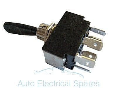 Lucas type toggle switch 3 position 6 terminals ON-OFF-ON DOUBLE POLL