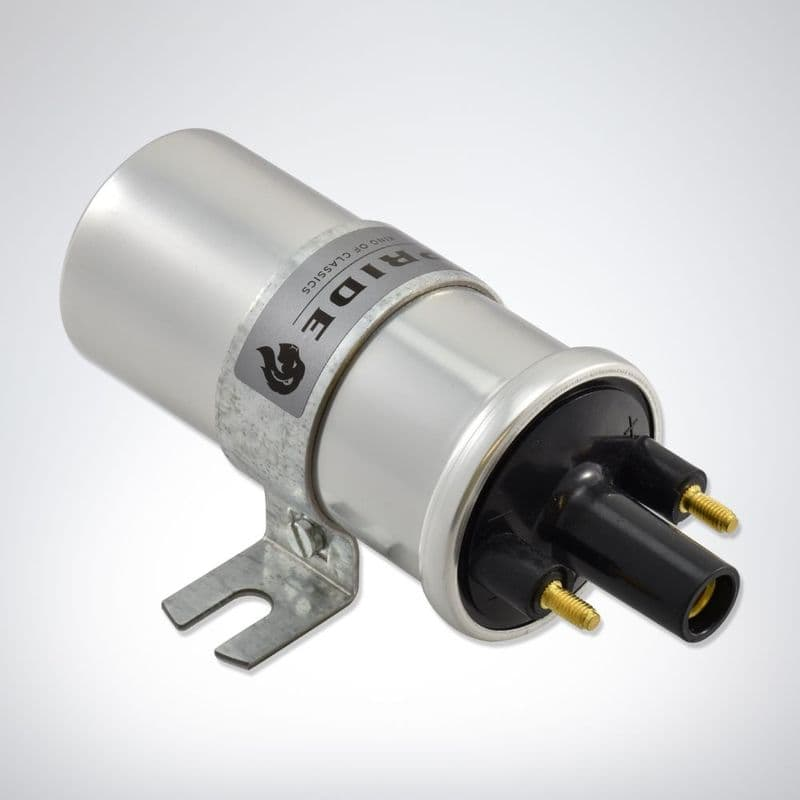 Pride ignition coil replaces lucas DLB198