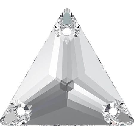 3270 Triangle Sew On Crystals, Crystal